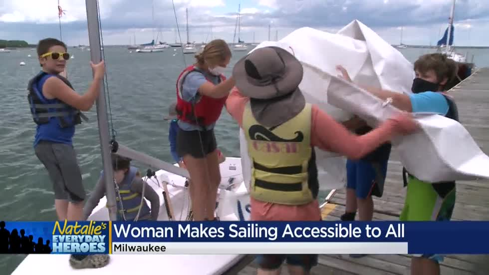 Natalie's Everyday Heroes: Holly Church, director of the Milwaukee Community Sailing Center