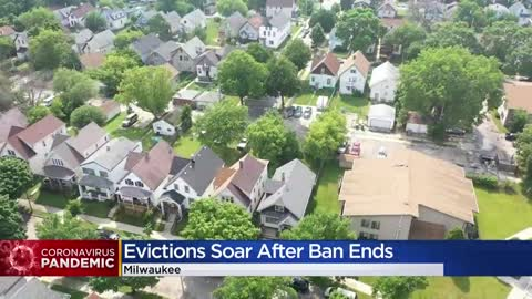 Eviction filings in June up nearly 30-percent from last year,...
