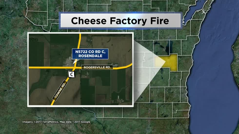 One hospitalized after explosion at cheese plant in Fond du Lac County