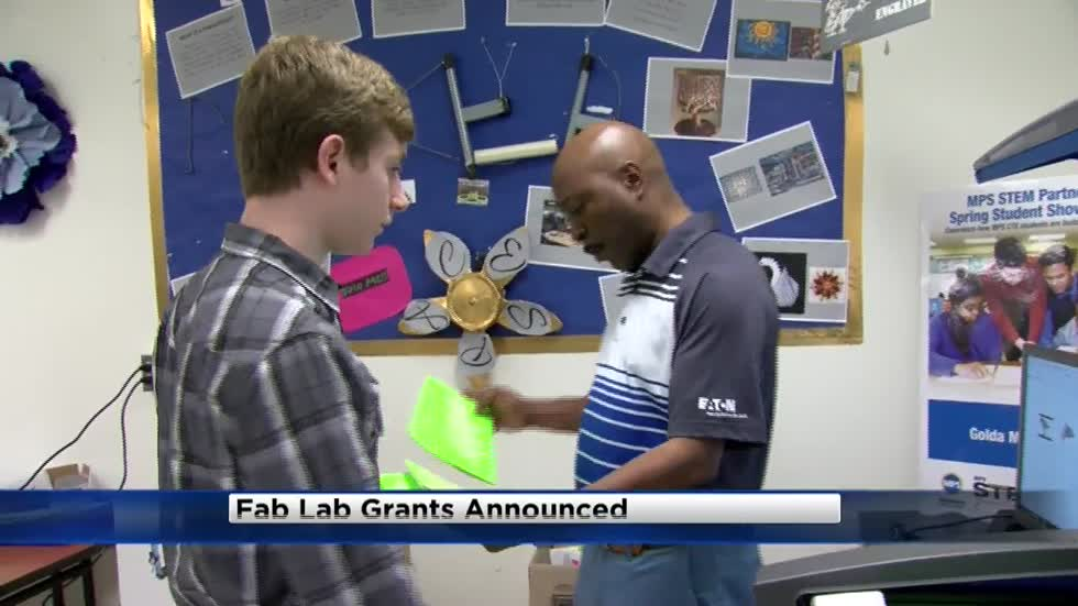 State officials award Fab Lab grants to local school districts