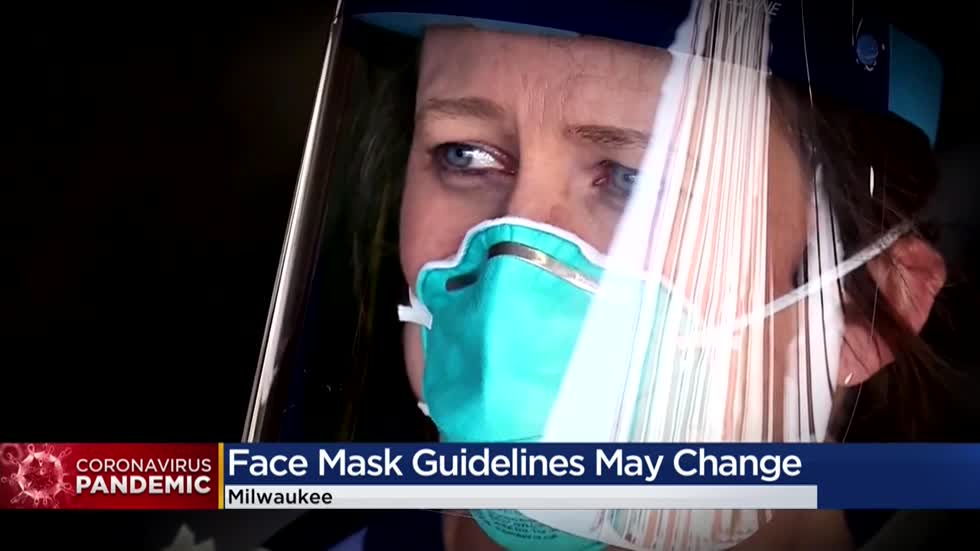 Doctors: CDC could update recommendations for facemasks