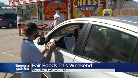 Wisconsin State Fair kicks off Fair Food Drive-Thru