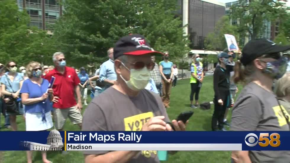 State Capitol demonstrators rally for fair maps, call for nonpartisan...