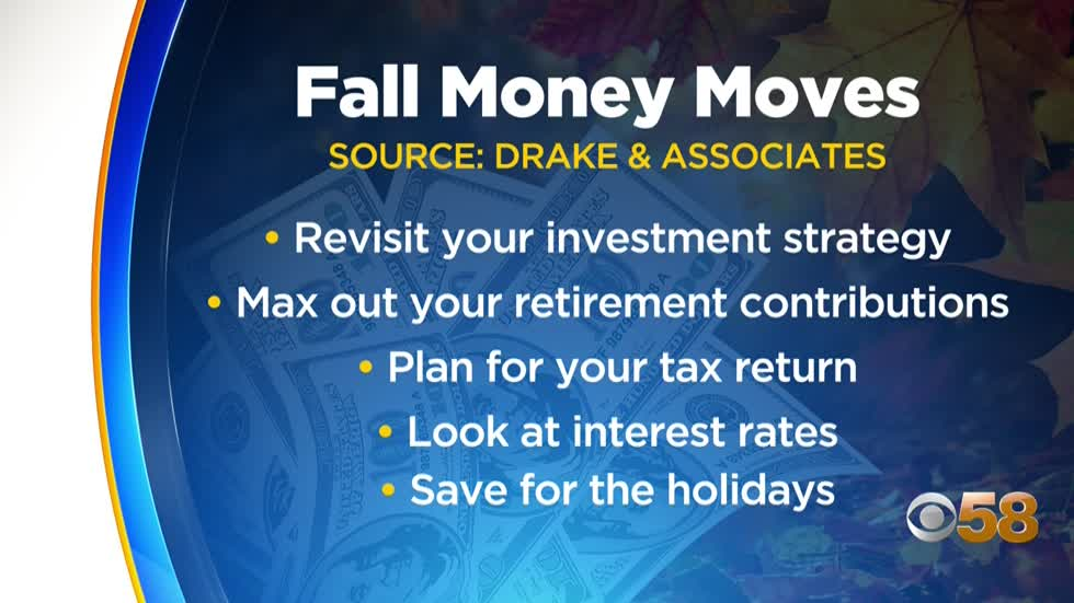 Local financial planner offers fall financial advice