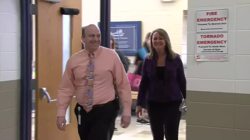 Riverside Elementary School principal named Principal of the Year