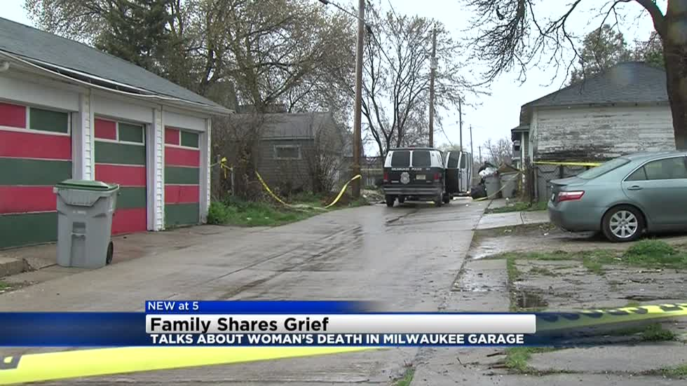 Family shares grief after woman's body found burned in garage