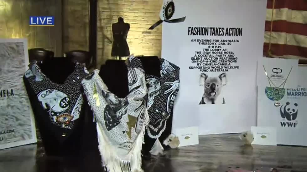 'Fashion Takes Action' event at The Iron Horse Hotel helps with Australian fire relief