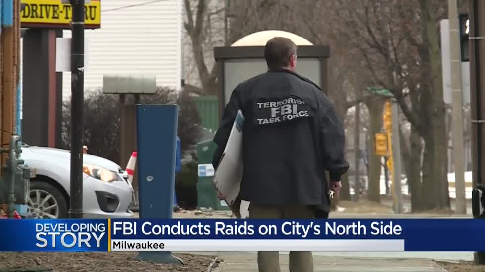 FBI executes several search and arrest warrants on Milwaukee's north side