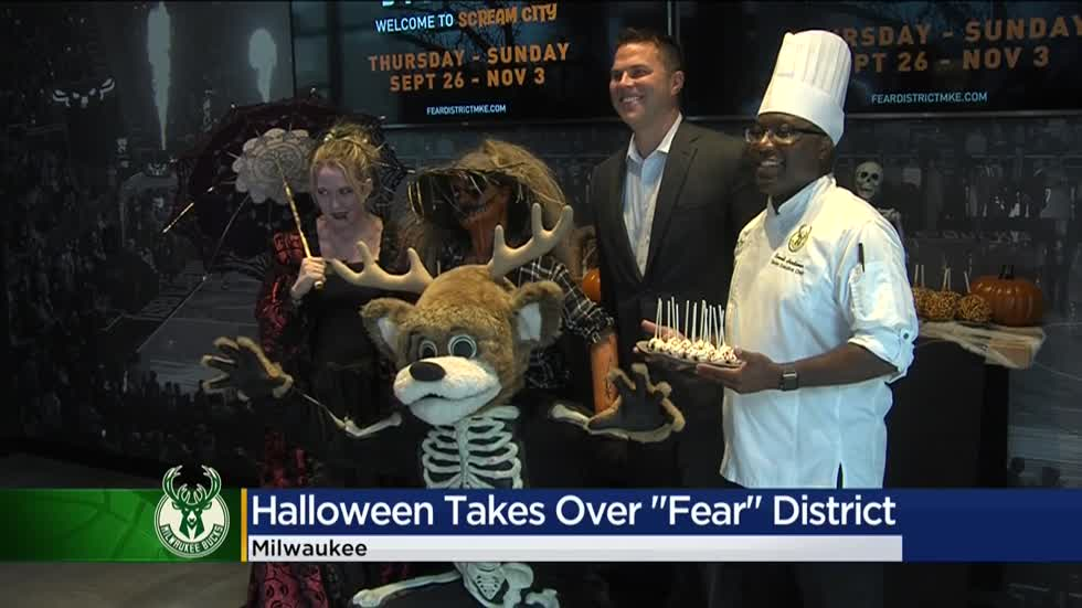 Milwaukee's Deer District to turn into Fear District throughout October