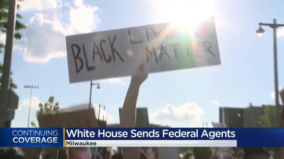 Evers: 'Strong opposition' to White House sending federal agents to Milwaukee