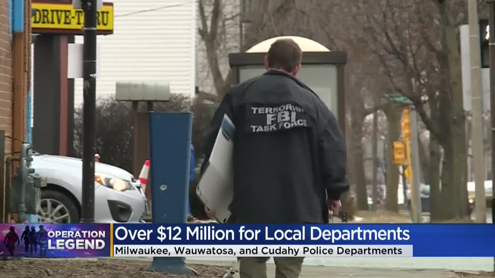 25-30 federal agents coming to Milwaukee through 'Operation Legend'