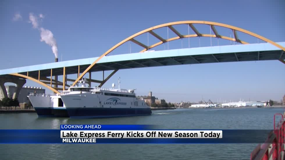 Lake Express Ferry is ready for the season, trek across the Lake