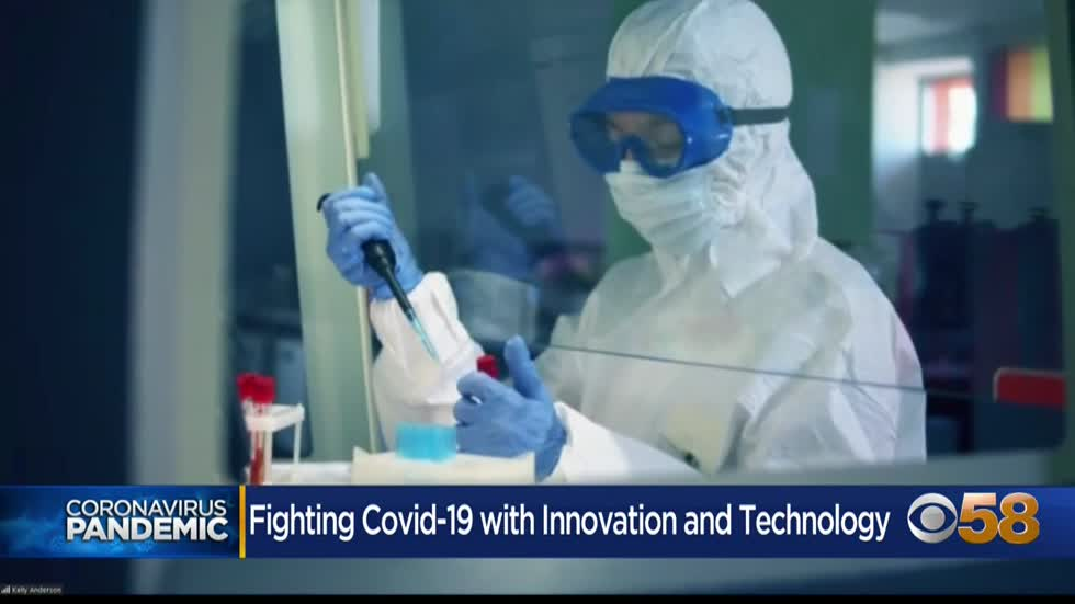 Fighting COVID-19 with innovation and tech