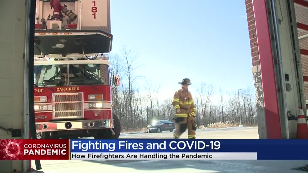 State firefighters union says number of COVID-19 cases are rising