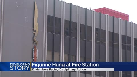 ' Milwaukee fire chief reacts to brown figurine found hanging...