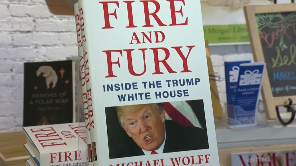 Local book stores trying to keep up with demand of 'Fire and Fury'