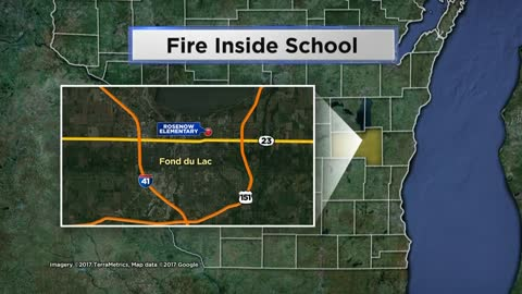 Two injured after fire at Fond du Lac elementary school