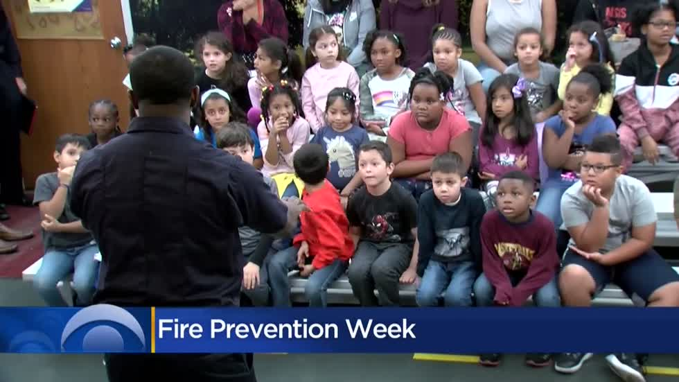 Students visit Milwaukee's Survive Alive House to kick off Fire Prevention Week
