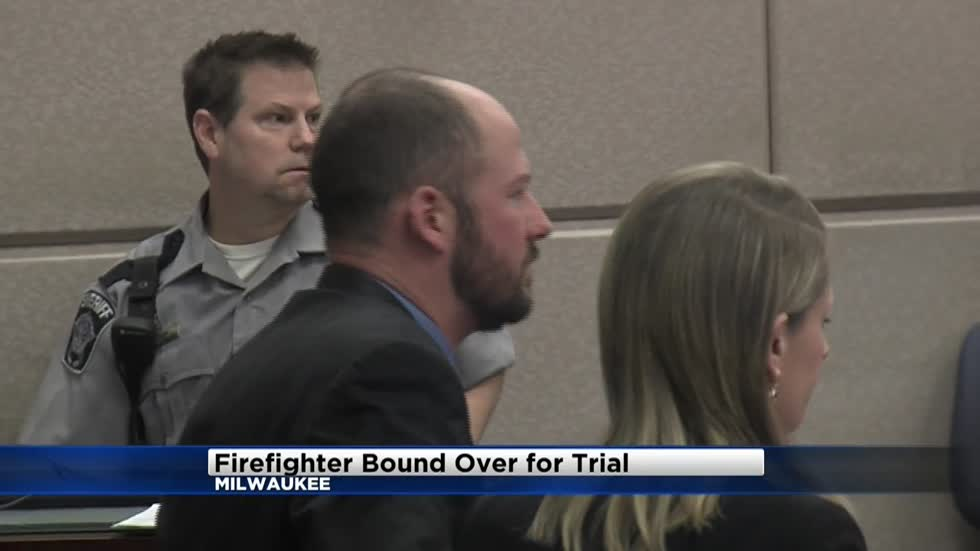 Milwaukee firefighter charged with sexual assault pleads not guilty