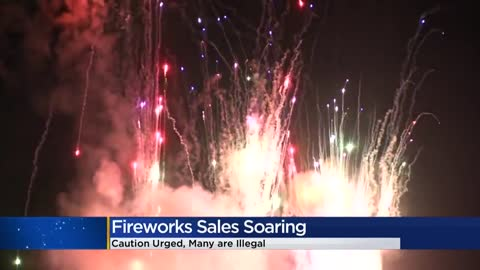 Firework sales up after a number of Fourth of July shows cancelled