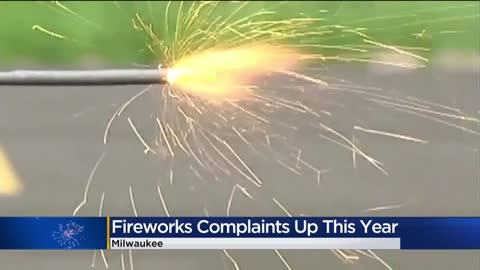 Residents have mixed feelings on fireworks in Milwaukee neighborhoods.