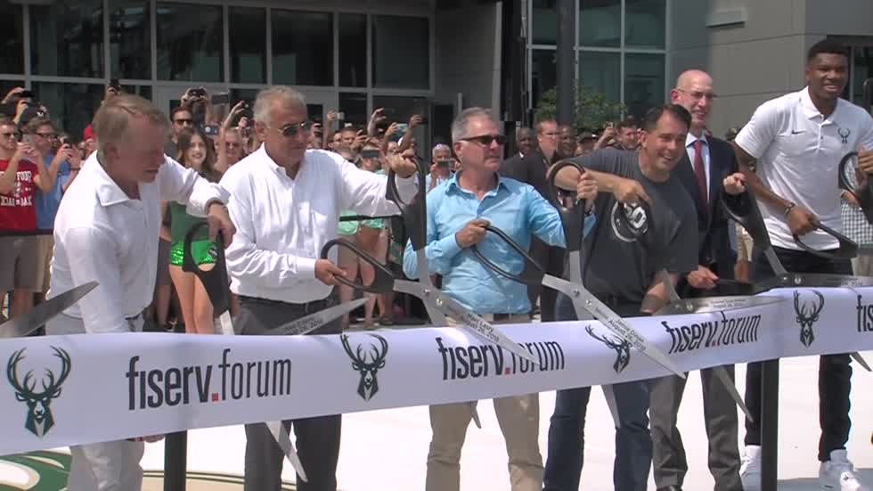 Special Report: Behind the scenes look with Bucks President as Fiserv Forum celebrates six months open
