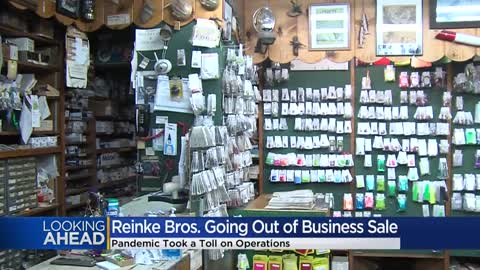 Fishing store 'Reinke Bros.' reeling from pandemic -- it's closing for good soon