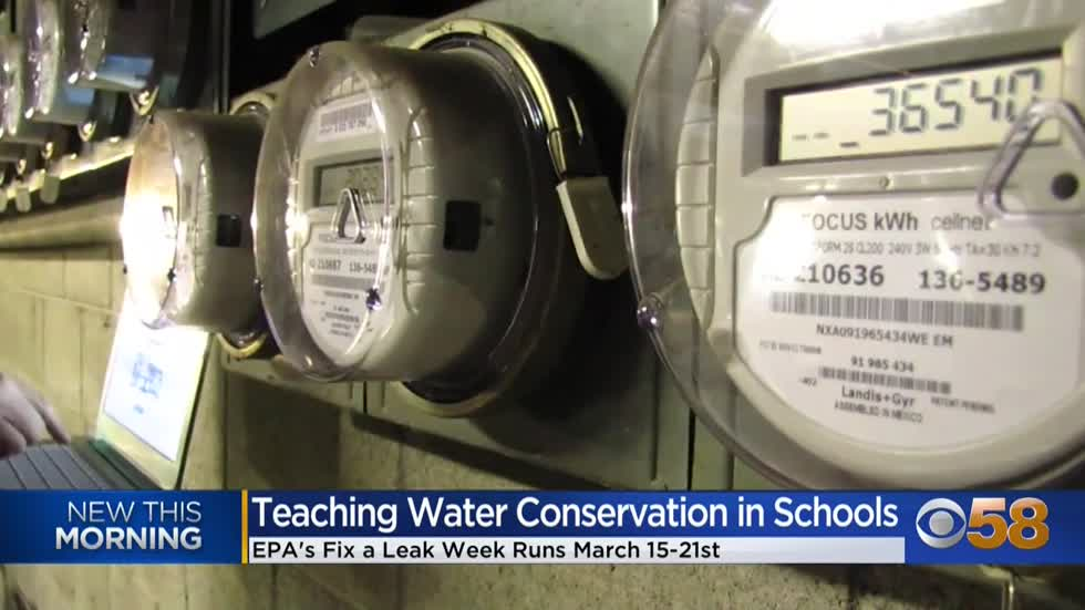 Fix a Leak Week: Getting kids involved in water conservation