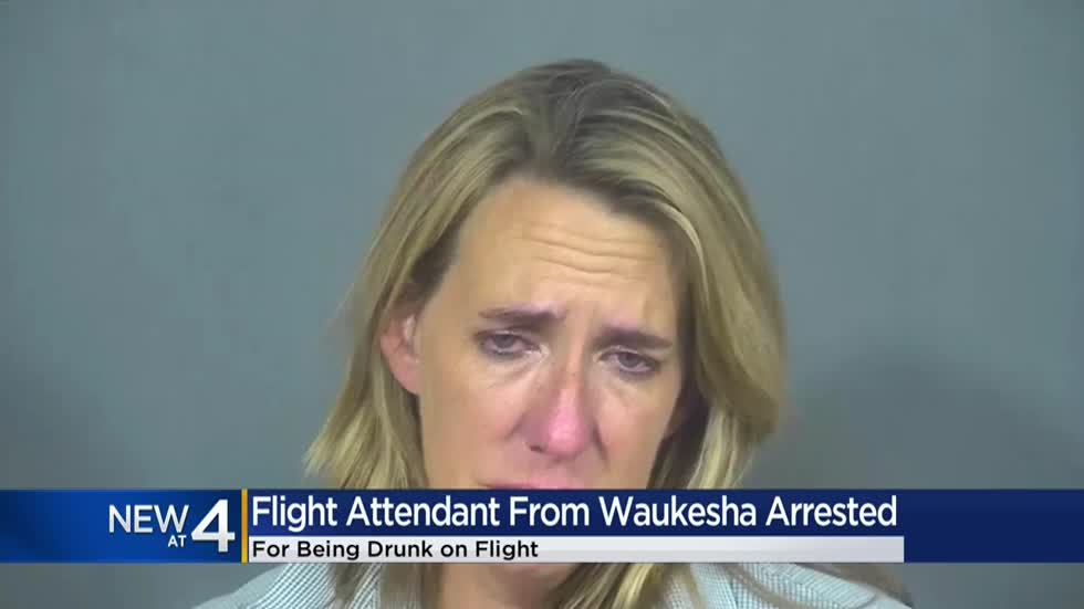 Flight attendant from Waukesha arrested for allegedly being drunk on flight