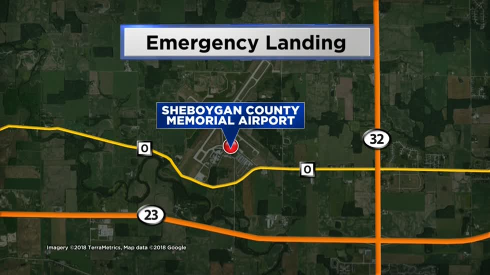 Flight for Life helicopter makes emergency landing at Sheboygan County Airport