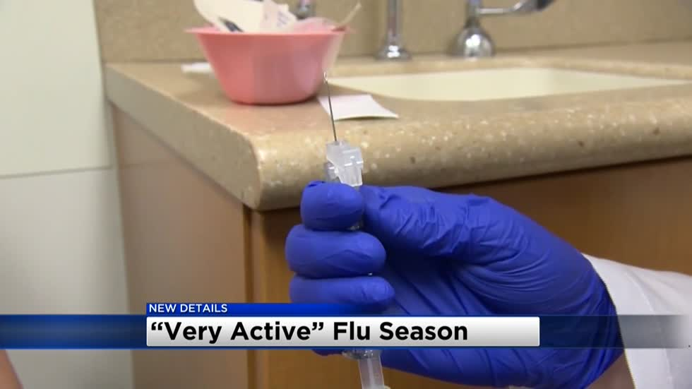 """Very active:"" Flu season is underway here in southeast Wisconsin"