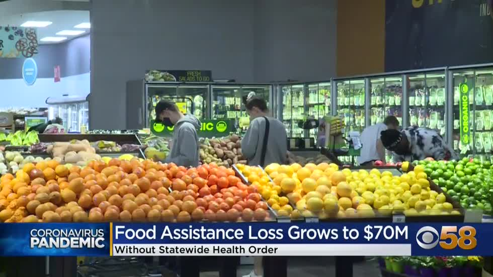 Wisconsin to lose more food aid than originally known