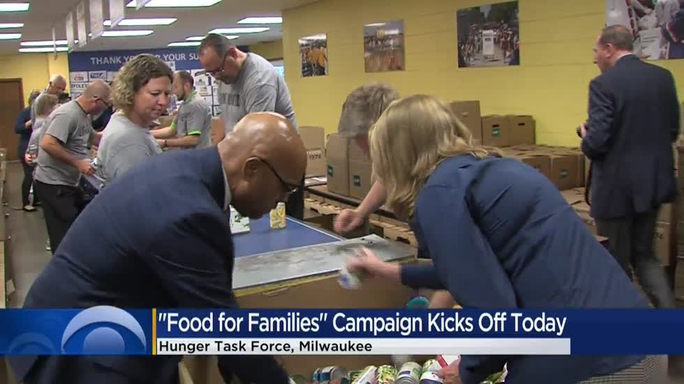 Hunger Task Force kicks off annual holiday food drive