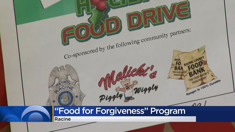 Racine shaves off parking ticket late fees in exchange for Food Bank donations