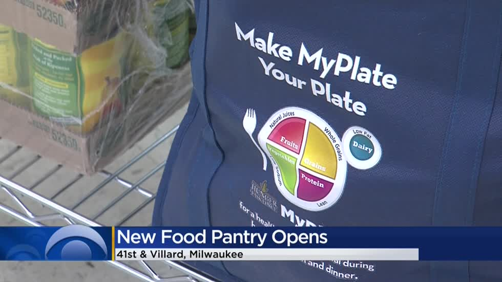 'Wonderful for the people of the area:' Milwaukee's north side opens new food pantry