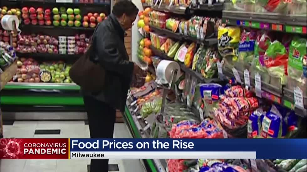 Shortages on meat, other foods in Wisconsin grocery stores means customers will pay higher prices