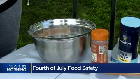 USDA expert talks 4th of July food safety