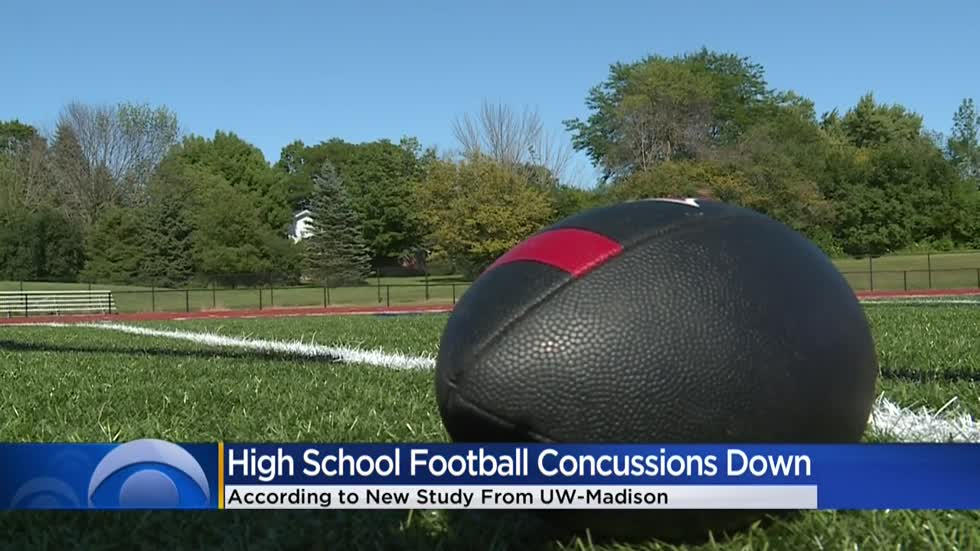 UW study finds high school football concussions cut in half following rule change