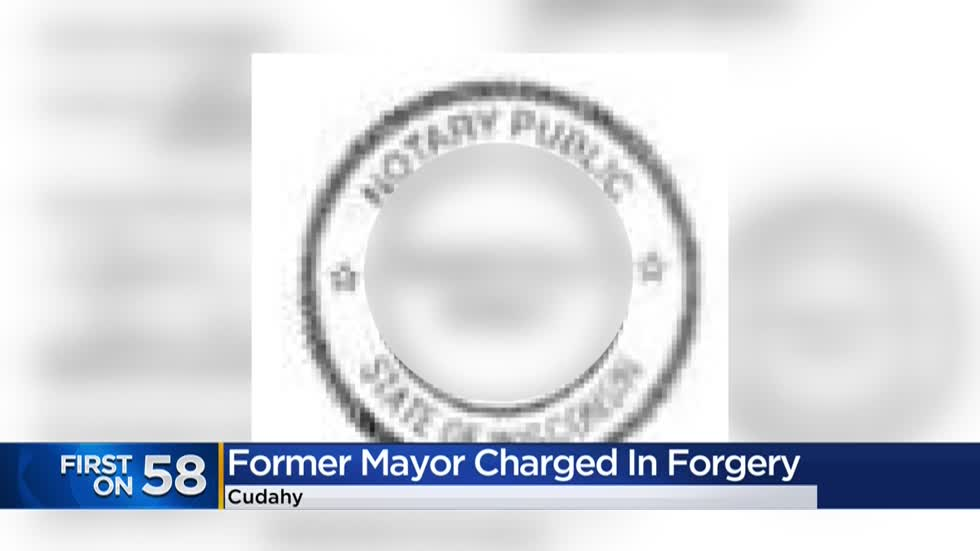 Former Cudahy mayor charged with misdemeanor after forgery