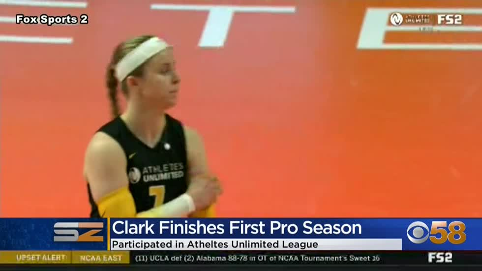 Former Badger Tiffany Clark finishes first professional season...