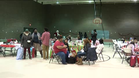 Holiday party for foster children at Lad Lake