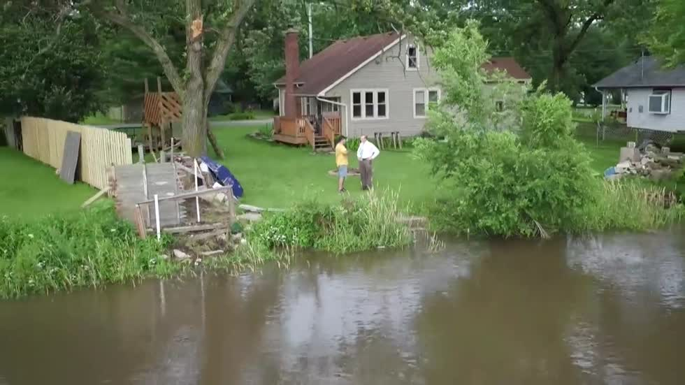 """It's Coming up Quick"": Kenosha Co. Homeowners Brace for Fox River Flooding"