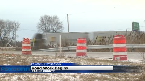 Foxconn road construction project to begin Monday