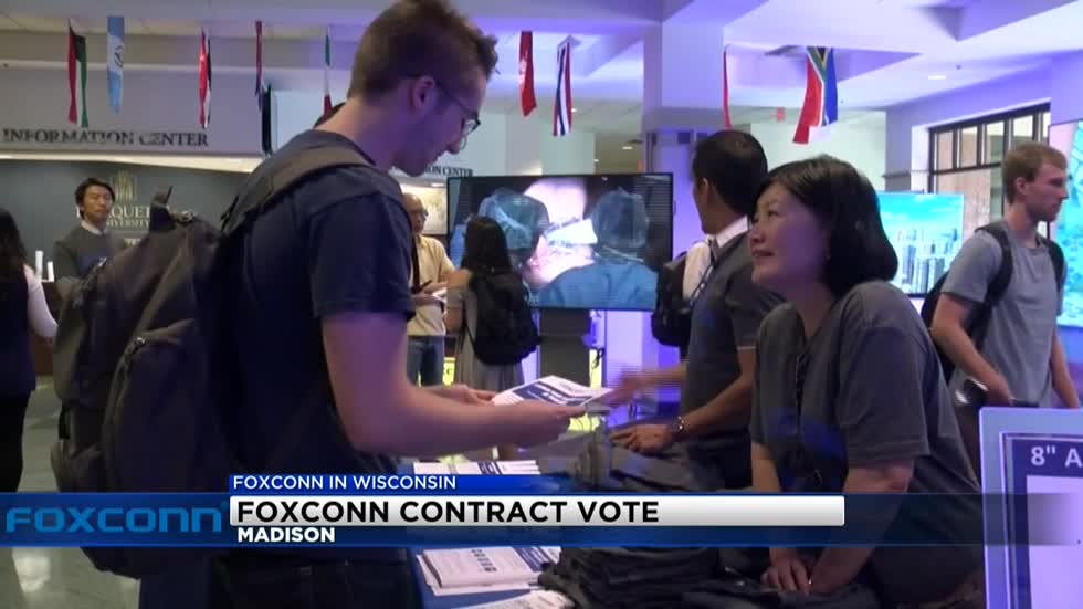 Foxconn contract expected to get approved in Madison