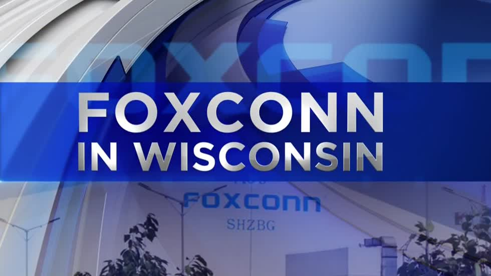 Foxconn says Wisconsin factory will be operational in 2020