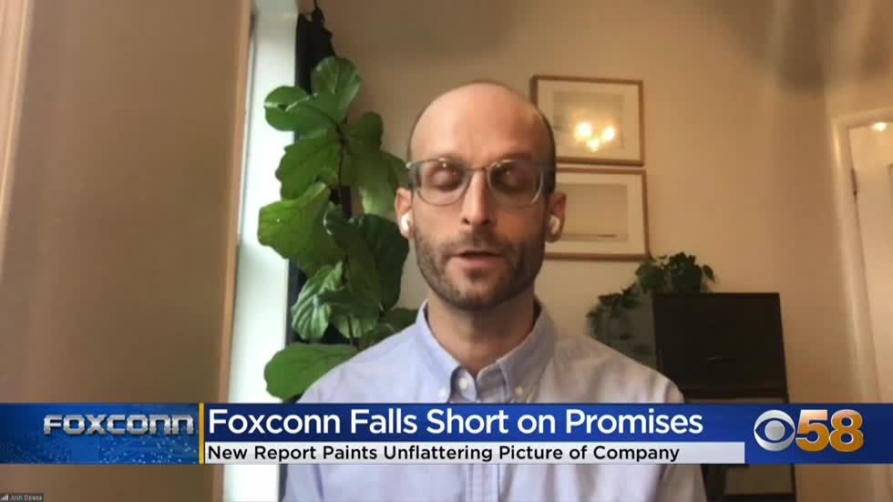 Journalist behind The Verge's Foxconn investigation on CBS...