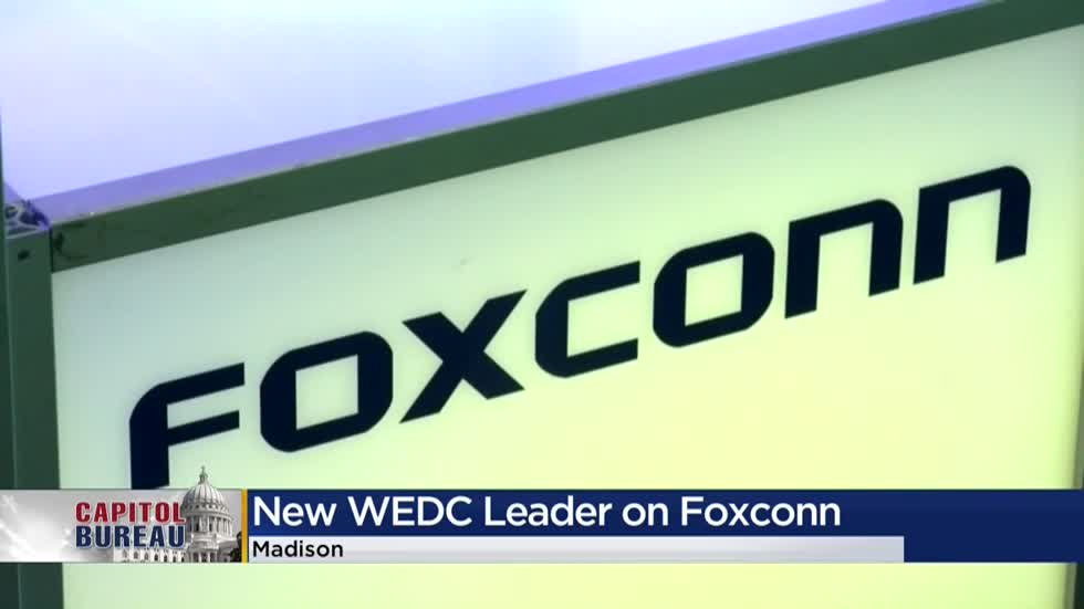 WEDC CEO: Foxconn contract renegotiations 'up in the air'