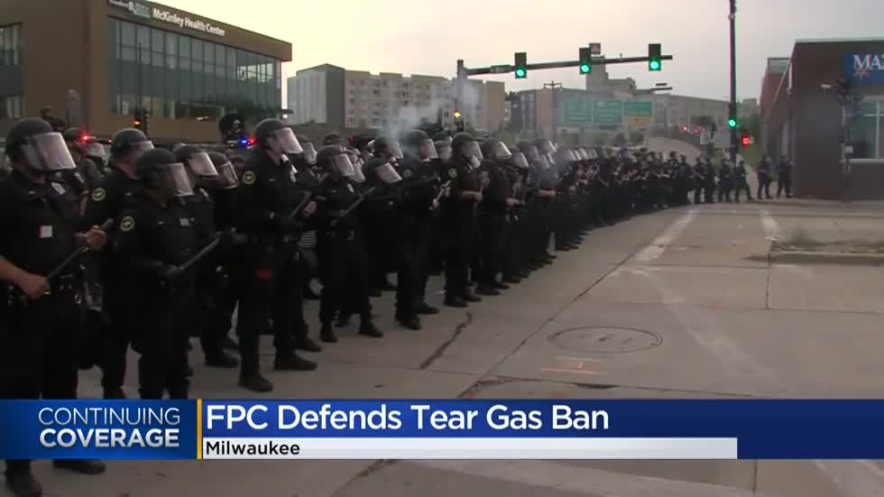 Milwaukee FPC says directive to end use of police tear gas has been 'shamelessly exploited and distorted'