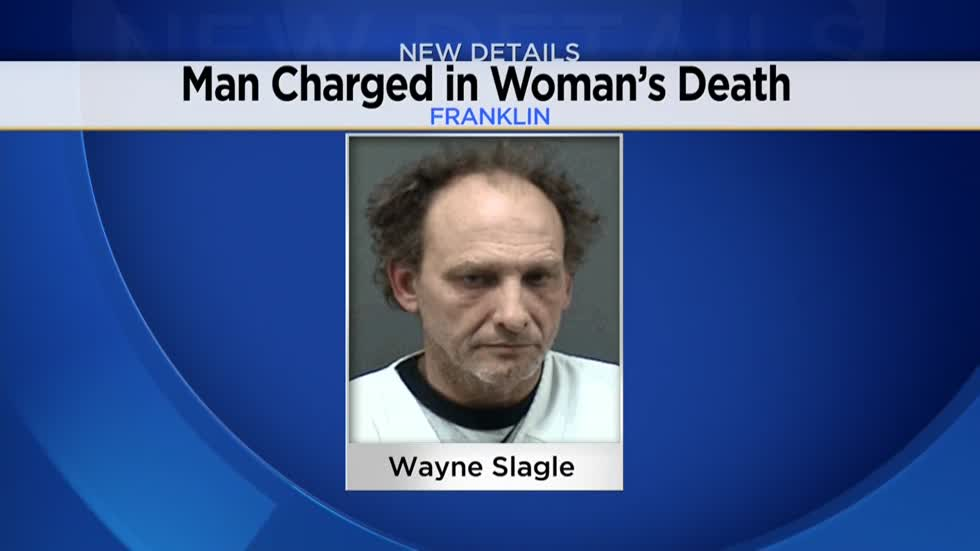 Man charged with failing to report a death after woman's body found in Franklin in November 2017