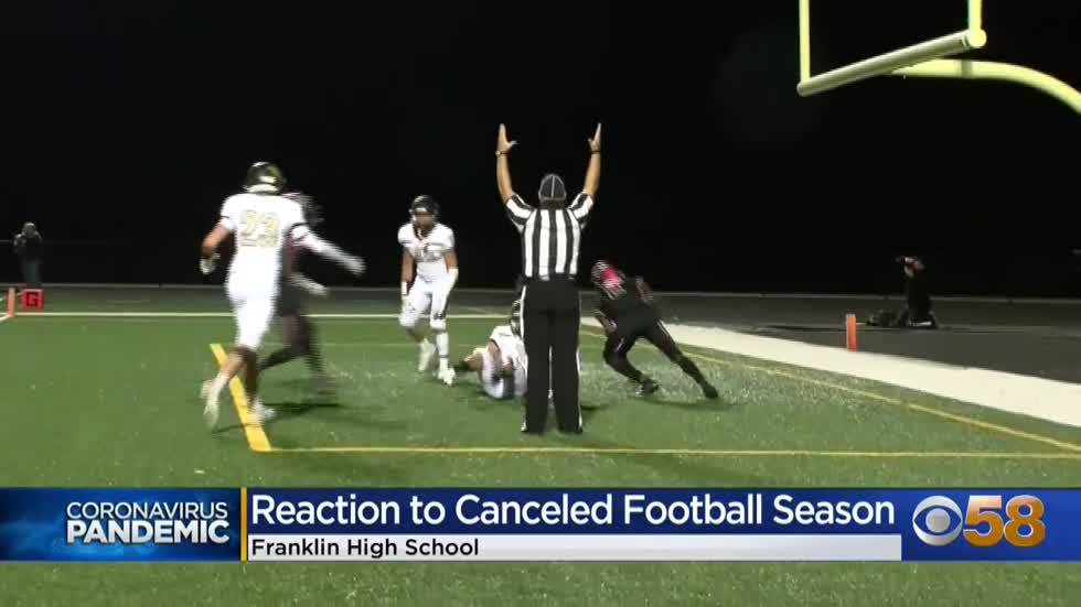 Early goodbye for football players at Franklin High School